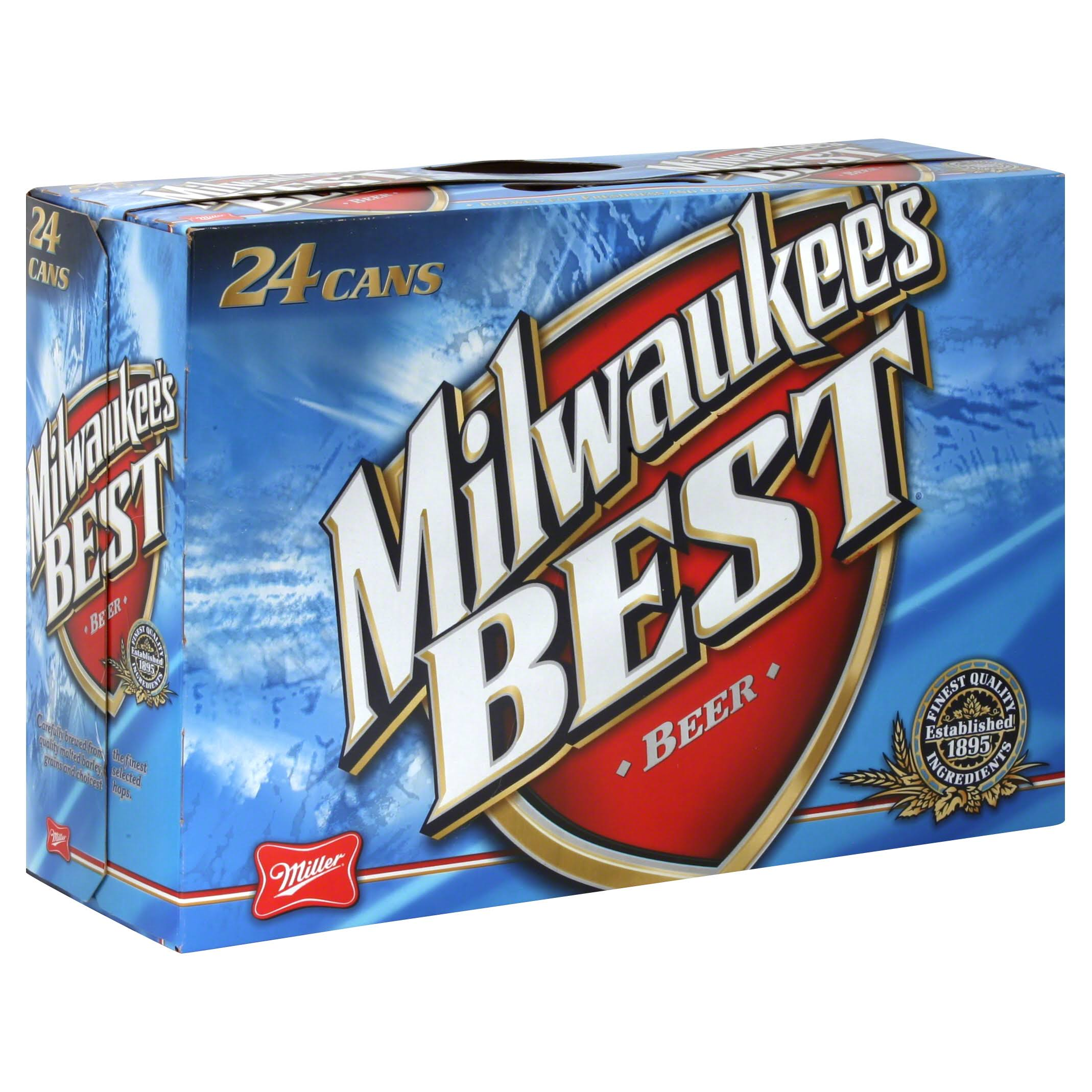 Milwaukee's Best Lager - 24 Cans