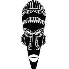 Masque Africain Tribal Dessin