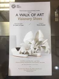 A WALK OF ART Visionary Shoes