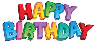 Happy Birthday in Colorful Letters