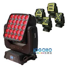 5x5 Led Matrix Stage Moving Head Blinder Led Moving Head American