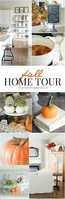 100 Eclectically My Fall 2015 Home Tour Fall Ella Claire