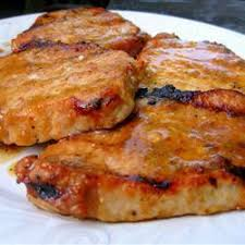 recettes de côtelettes de porc cuites au barbecue recettes