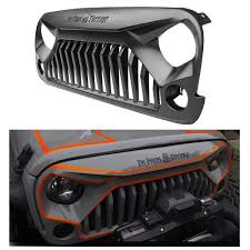 Aftermarket Jeep Wrangler Grille Styles Reviewed - Black Dog Mods Amazoncom Toyota Pt22835170 Trd Grille Automotive 72018 F250 F350 Kelderman Alpha Series Km254565r Billet Grilles Custom Grills For Your Car Truck Jeep Or Suv Of Rbp Ford Venom Motsports Grills Your Car Truck Jeep Suv 2018 Ford F150 Aftermarket Unique Best Mod And For A Chrysler 300 Resource Diy Mods 20 Honeycomb Insert From The Horizontal Chroniclecustom Chronicle 0306 Tundra Evolution Stainless Steel Wire Mesh Packaged Trex Install 2008 Chevy Tahoe Truckin Magazine Sema 2015 Top 10 Liftd Trucks