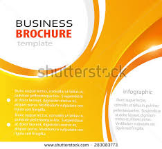 Orange Abstract Vector Business Background With Place For Text Creative Flyer Design Poster