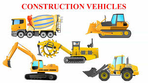 Wonderful Construction Vehicles For Toddlers Types Of Trucks ...