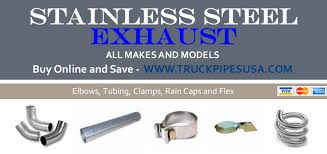 100 Exhaust For Trucks Stainless Steel Pipes Truck Pipes SS Parts