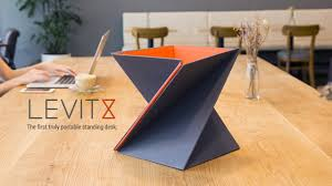 LEVIT8 The first truly portable standing desk on Vimeo