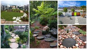 17 Creative Round Stepping Stone Designs For Your Beautiful Garden Garden With Tropical Plants And Stepping Stones Good Time To How Lay Howtos Diy Bystep Itructions For Making Modern Front Yard Designs Ideas Best Design On Pinterest Backyard Japanese Garden Narrow Yard Part 1 Of 4 Outdoor For Gallery Bedrock Landscape Llc Creative Landscaping Idea Small Stone Affordable Path Family Hdyman Walkways Pavers Backyard Stepping Stone Lkway Path Make Your
