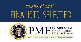Presidential Management Fellows Class of 2018 Finalists Selected
