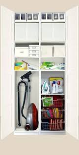 Ironing Board Cabinet Ikea by Organized Inside Of A Cleaning Closet Love Ikea I Need Something