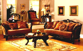 Dazzling Design Wooden Sofa Set With Living