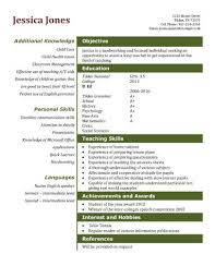 Teaching Assistant Resume Template