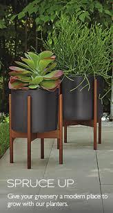 Modern Outdoor Planters Modern Outdoor Furniture Room & Board