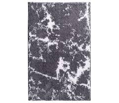 ridder badteppich grau weiß 90x60cm badematte