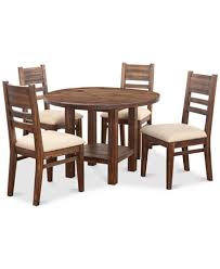 avondale round dining set 5 pc dining table 4 side chairs