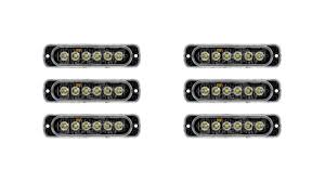 Low Profile Vehicle LED Mini Strobe Light Head - Single Or Dual ... 8 Led Amber Strobe Light Car Yellow Dash Emergency 3 Flashing Modes Led Magnetic Warning Beacon Design Wonderful Blue Lights Used Fire Brand New 2 Pcs Of Pack 6 1224v Super Bright High Low Profile Vehicle Mini Head Single Or Dual Staleca 4x Ultra Truck 12 Led 19 Flash Ford Offers 700 Msrp Factory On Every 2016 Fseries Watch For Trucks With Interior Soundoff Signal F150 Four Corner Kit 1517 88 88w Car Truck Beacon Work Light Bar Emergency Strobe Lights Amazoncom Yehard For Cars 12v Universal 12v 24 Power Long Bar Red White Flash Lamp