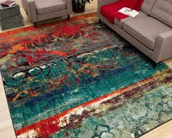 Teal Living Room Rug by The Best Of Orange And Teal Area Rug Minimalist Csr Home Decoration