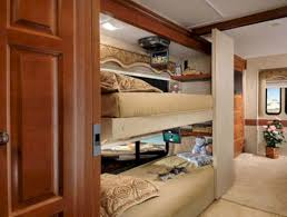 RV Class A Motorhome With Bunk Bed