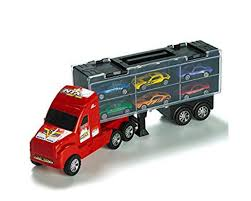 100 Semi Truck Toy Amazoncom Car Carrier Vehicle Playset Car