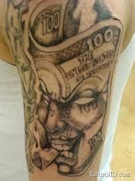 Tattoos For Guys Men Gangsta Arm Tattoo