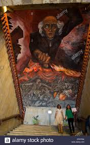 Jose Clemente Orozco Murales Universidad De Guadalajara by Miguel Hidalgo Stock Photos U0026 Miguel Hidalgo Stock Images Alamy