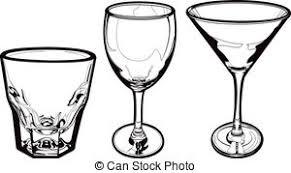 Glass clipart 14