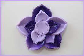 fleur en fimo ღ les malices de cathy ღ