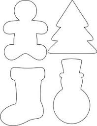Free Template Printable For My Felt Christmas Decorations