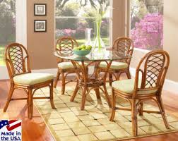 Grand Isle Rattan And Wicker Dining Sets 3760 By Classic