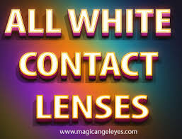 All White Halloween Contacts by Try This Site Http Magicangeleyes Com Halloween Contacts Ln