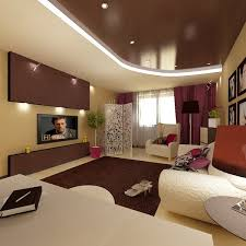Bedroom Furniture And Interior Inspiration In Modern Apartment With Large For Young Couples