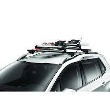 porte skis sur barres de toit 6 paires de skis pour vehicules