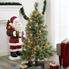 Perfect Ideas Holiday Time Christmas Tree Pre Lit 4