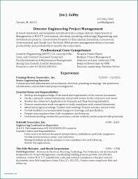 Sample Resume Mechanical Engineer Oil And Gas Project Manager