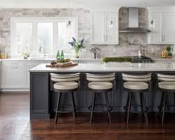 Kitchen Backsplash Ideas With Dark Oak Cabinets by Stone Tile Kitchen Backsplash Ideas Houzz
