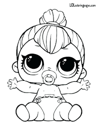 Lol Surprise Coloring Pages Spice Doll Page Online Flowers