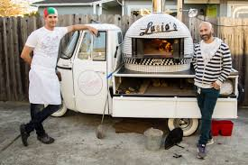 100 Mobile Pizza Truck Lucias Goes In A Piaggio Ape Food Drink