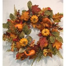 Harvest Fall Thanksgiving Wreath
