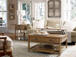 Captivating Rustic Living Room Ideas Themed Vintage Beige Couch Brown Wooden Table White Frame Glass Window