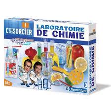 laboratoire de cuisine c est pas sorcier clementoni c est pas sorcier chimie achat vente expérience
