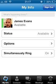 Lync 2013 Mobile Apps Now Available – James Evans