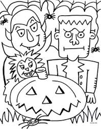 Free Pdf Halloween Coloring Page