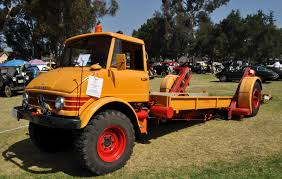 Just A Car Guy: 1966 Unimog Flatbed Tow Truck... With An Innovative ...
