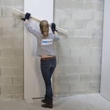 doubler et isoler avec des plaques de plâtre et polystyrène
