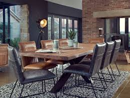 Quebec 18m Cross Leg Dining Table