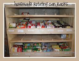 Food Can Storage Rack Shelf Reliance Organizer Inside Racks Ideas