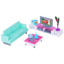 miniature furniture television table sofa tv cabinet set for