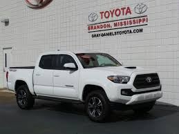 Used 2017 Toyota Tacoma For Sale | Brandon MS Used Dodge Ram 2500 For Sale Poplarville Ms Cargurus Cars Olive Branch Trucks Desoto Auto Sales In Missippi On Buyllsearch For Hattiesburg 39402 Daniell Motors Used 2013 Kenworth T660 Sleeper For Sale In 111223 2012 Peterbilt 384 70 Tandem Axle 6443 Southeastern Brokers 2015 W900l 86studio 2008 Mack Gu713 Dump Truck 6815