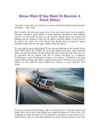 Know More If You Want To Become A Truck Driver By Trucker Search - Issuu How To Become A Truck Driver 13 Steps With Pictures Wikihow Want A Life On The Open Road Heres What Its Like To Be Trucking An Entertaing Yet Informative Guide Becoming Advantages Of Getting Your Cdl Jobs For Veterans Gi Europes Best Young Truck Driver Scania Group Commercial Driving Archives Advanced Technology Institute An Owner Operator 14 Atlantic Food Distributors Delivery Life Road Becoming Career Camel Transport Traing Centres Of Canada Heavy Equipment Driving 10 Strong Reasons Consider